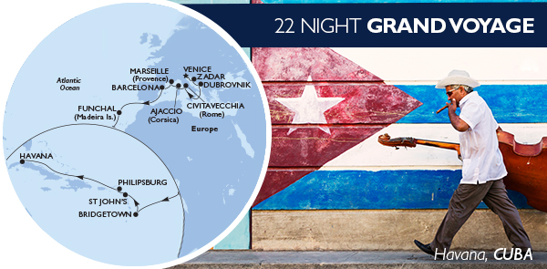 22 Night Grand Voyage