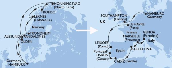 Grand European Fly Land Cruise