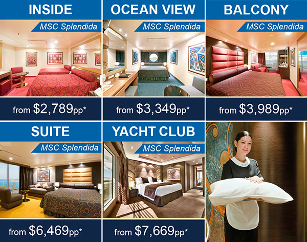 Cruise Ship MSC SPLENDIDA Cruise Itinerary United Arab Emirates, Oman, Sri Lanka, Thailand, Malaysia, Singapore, Vietnam, Hong Kong, China, Japan Embarkation Port Dubai, U. Arab Emirates Duration 29 Days, 28 Nights