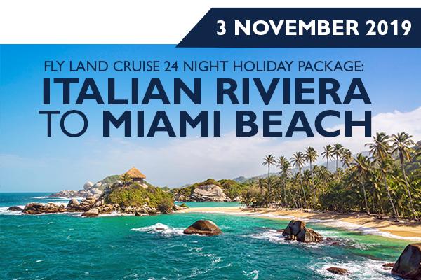 Italian Riviera to Miami Beach