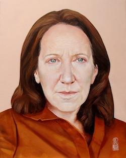 Mrs. Goransky, portrayed by the Italian painter Roberto Caruso
