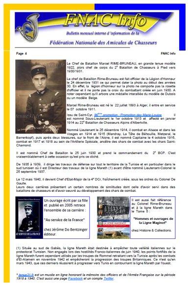 Bulletin Fédération Nationale des Amicales de Chasseurs