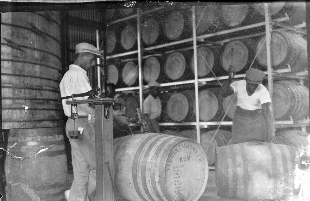 The rum industry on St. Croix, in 1936