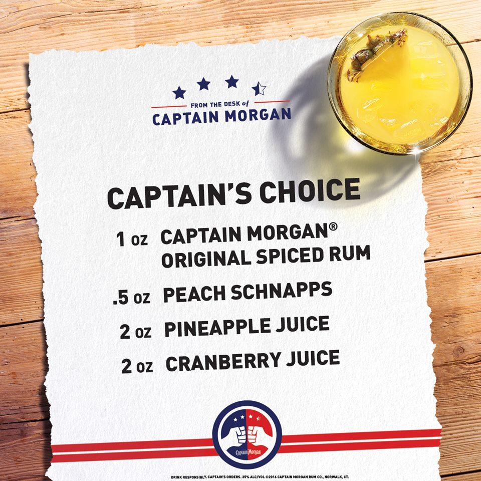 Captain Morgan's Recipe