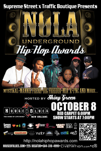 NOLA Hip-Hop Awards 2011