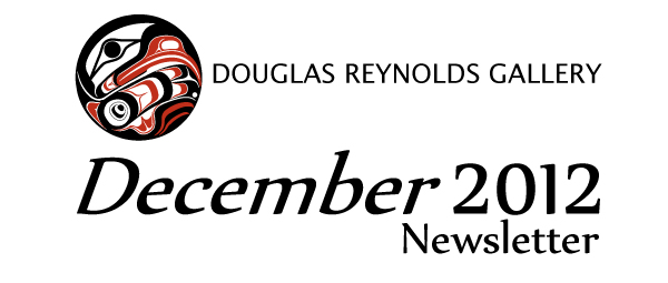 Douglas Reynolds Gallery December 2012 Newsletter