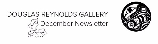 December 2015 Header, Douglas Reynolds Gallery