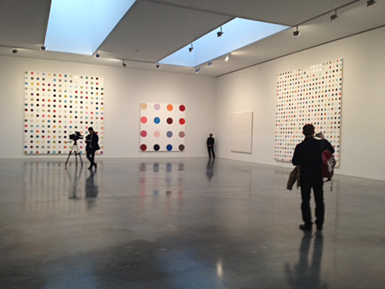 Spot Paintings by Damien Hirst