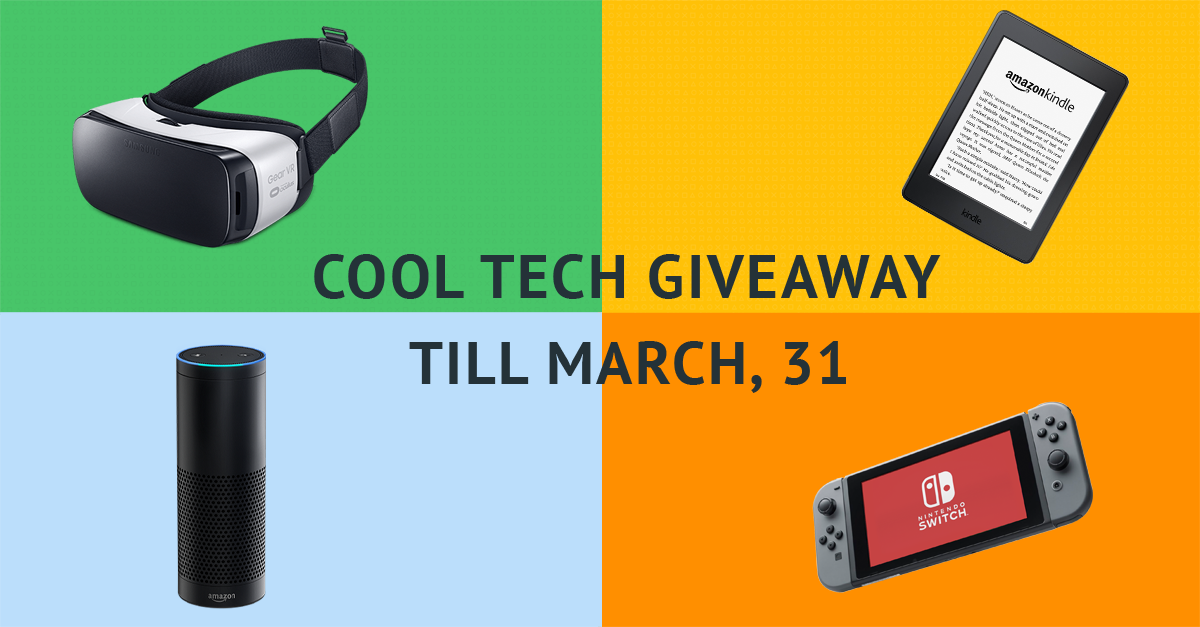 Cool          Tech Giveaway Till March 31
