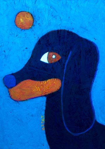 """""""Doxie"""" Painting by BZTAT"""