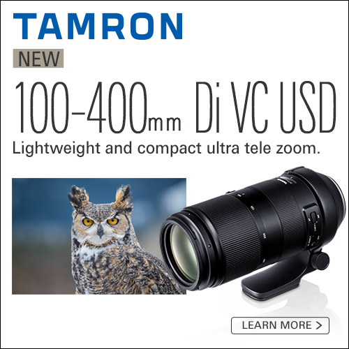 Tamron NOEW 100-400mm Di VC USD
