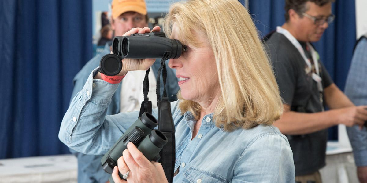 American Birding Expo 2018: 3.Indoor Optics Range