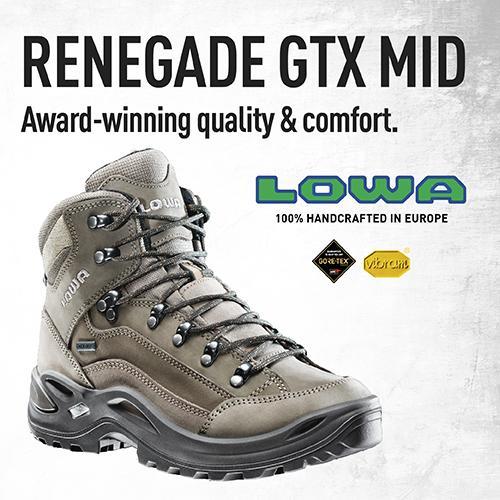 Lowa Boots, Renegade GTX MID