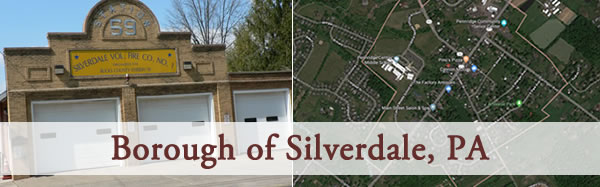 News from Silverdale, PA
