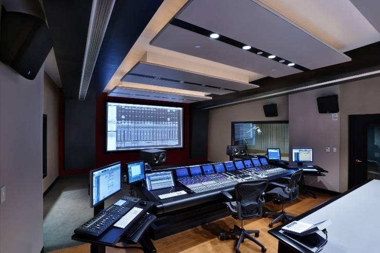 Berklee College of Music - Dubbing Control Room