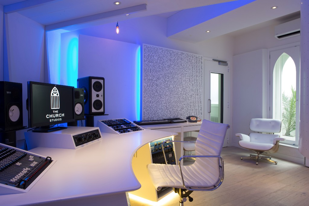 The Church Studios - Writters Room