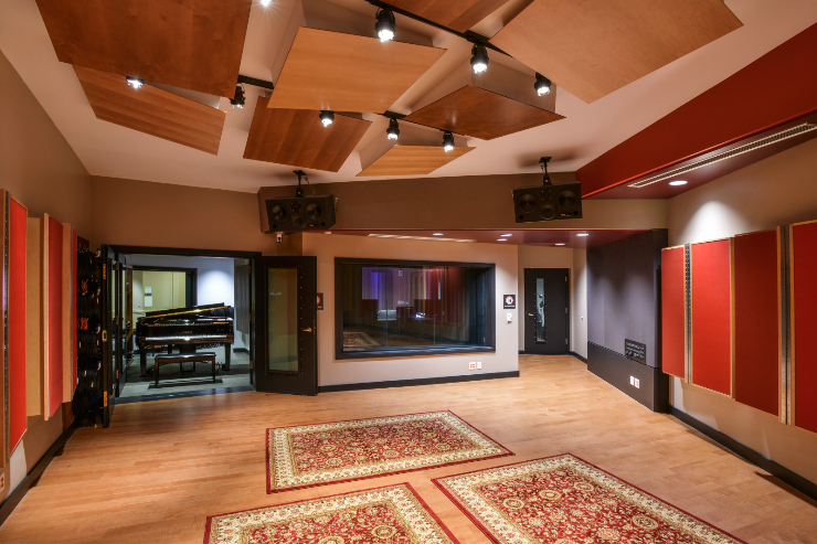 Berklee College of Music - Live Room
