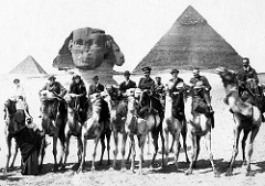 Gertrude Bell (3rd from left)