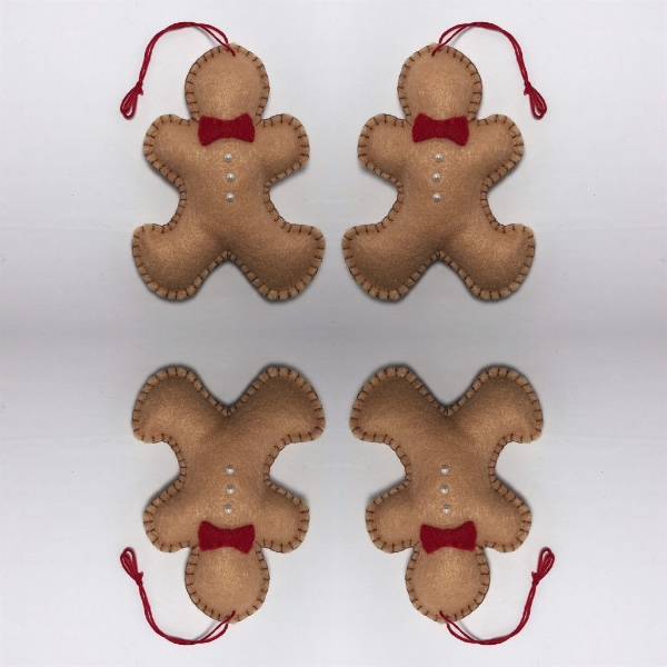 Gingerbread Man Stuffie