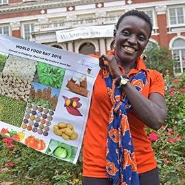 Esther Ngumbi World Food Day