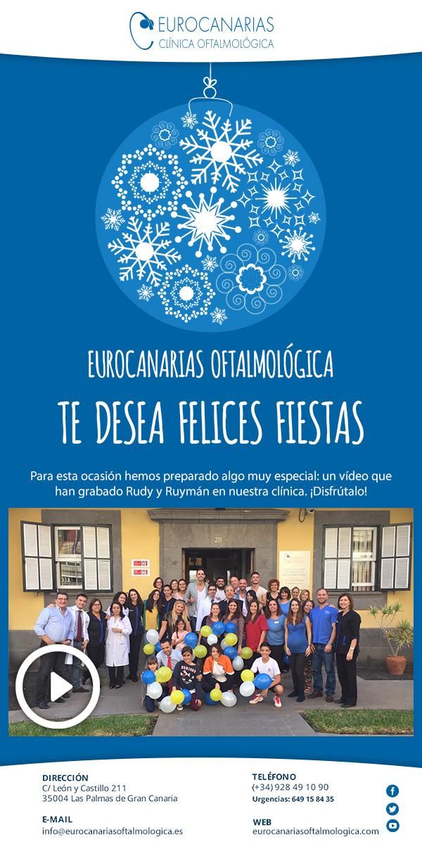 eurocanarias oftalmológica les desea felices fiestas