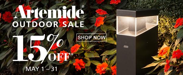 Artemide Outdoor Sale, Save 15%