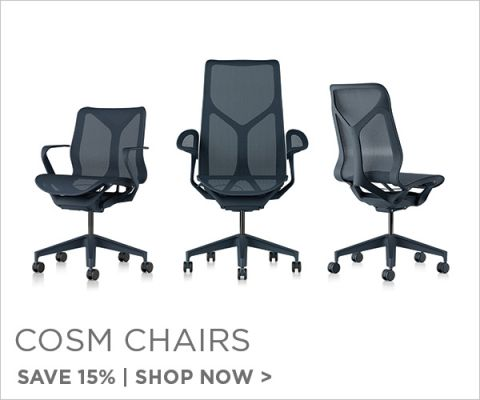Herman Miller Cosm Chairs, Save 15%