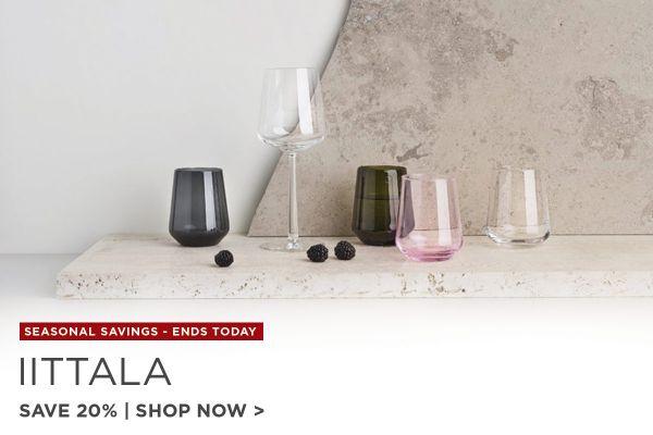Iittala Sale Ends, Save 20%