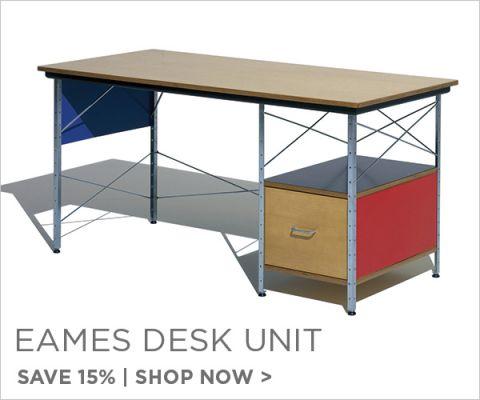 Eames Desk Unit, Save 15%