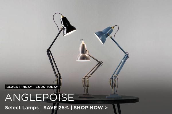 Anglepoise Sale Ends, Save 25%