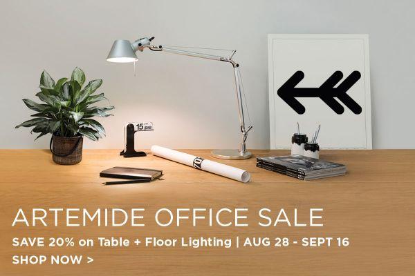 Artemide Office Sale, Save 15%