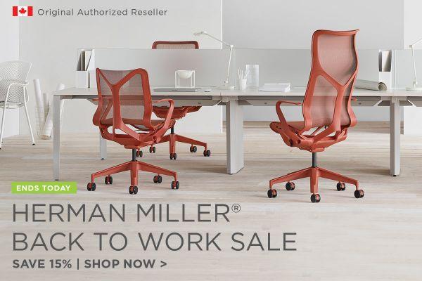 Herman Miller Back to Work Sale