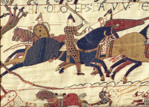 Detail from the Bayeux Tapestry