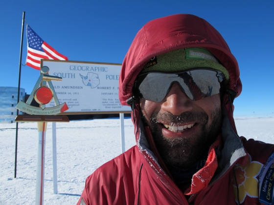 Geographical South Pole 2011