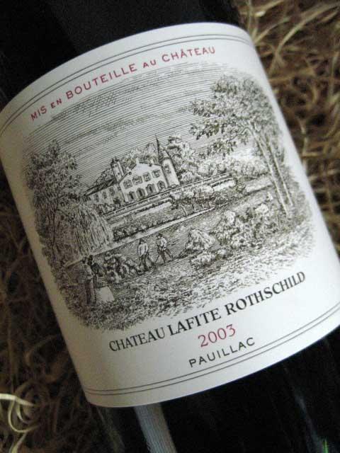 Lafite Rothschild 2003