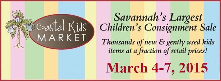 Early Bird Consignor Deal for Coastal Kids Market Spring 2015 Sale