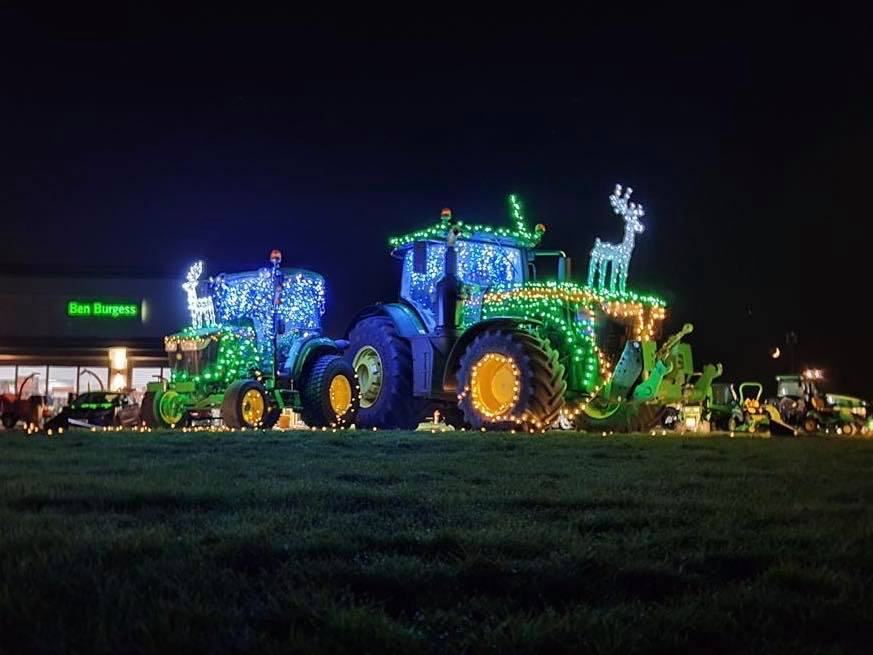 Ben Burgess Christmas Lights