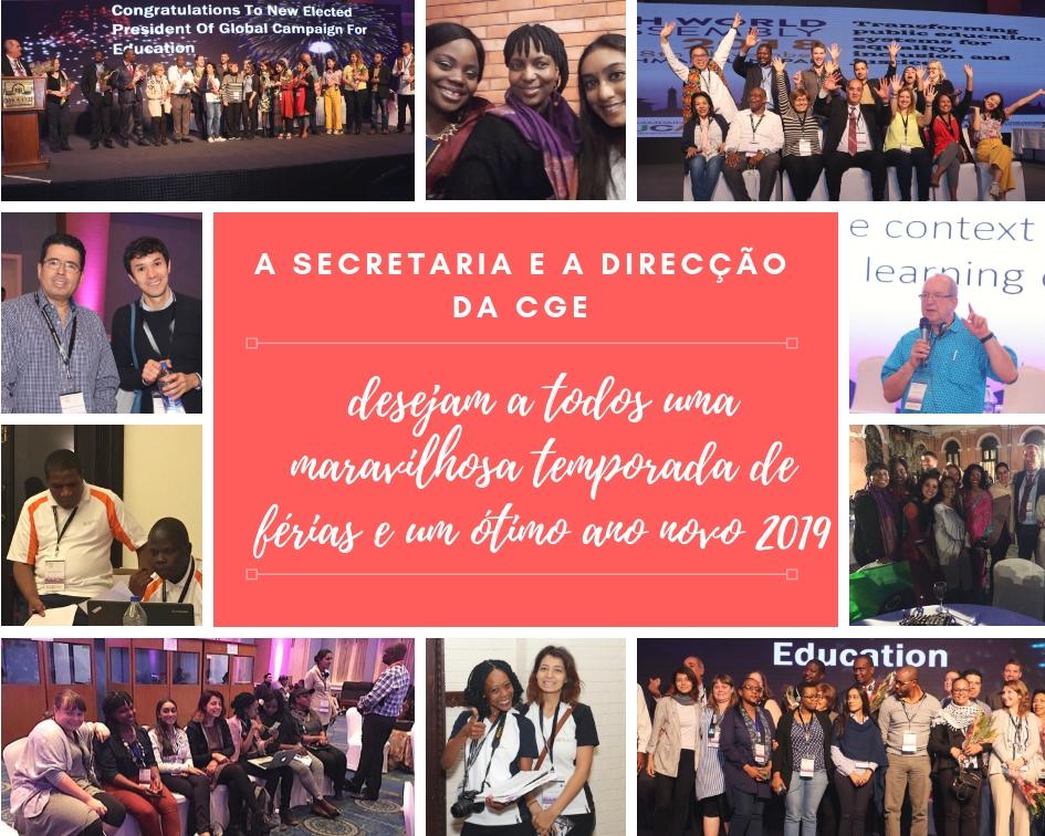 2019 - Um novo ano para acelerar os objetivos da educação