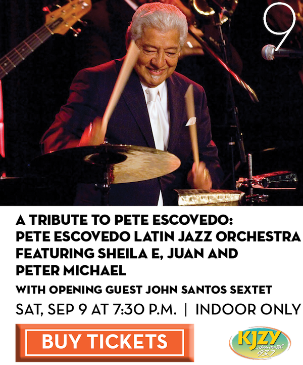 Pete Escovedo Latin Jazz Orchestra