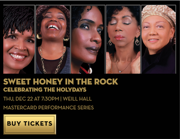 Sweet Honey in the Rock: Celebrating the Holydays