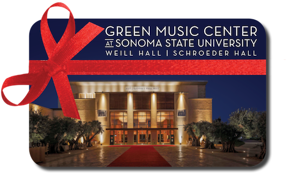 Green Music Center Gift Cards