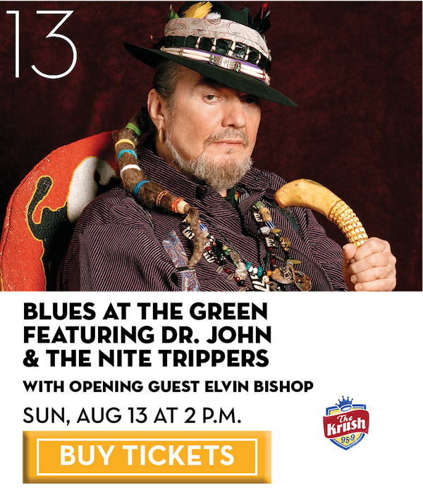 Blues at the Green feat. Dr. John & The Nite Trippers
