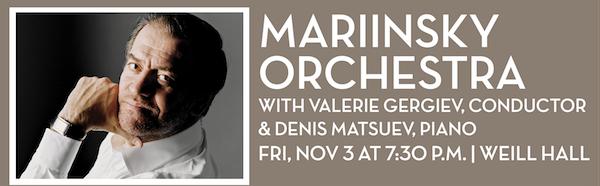 Mariinsky Orchestra with Valerie Gergiev, conductor & Denis Matsuev, piano