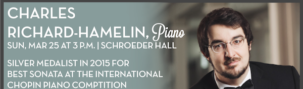 Charles Richard Hamelin, piano