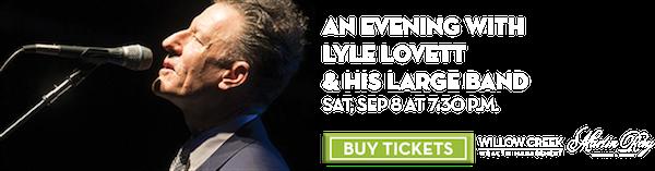 Lyle Lovett & His Large Band – Sep 8
