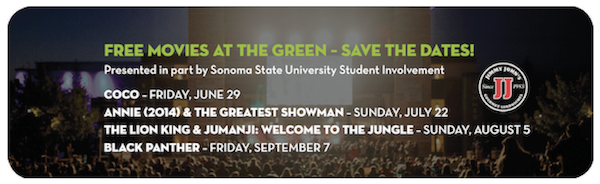 Free Movies at the Green
