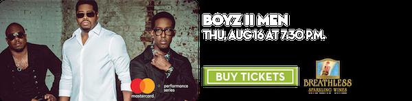 Boyz II Men – Aug 16