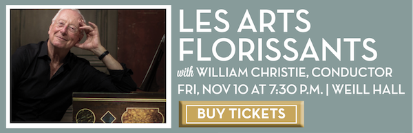 Les Arts Florissants with William Christie