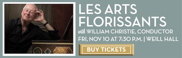 Les Arts Florissants with William Christie