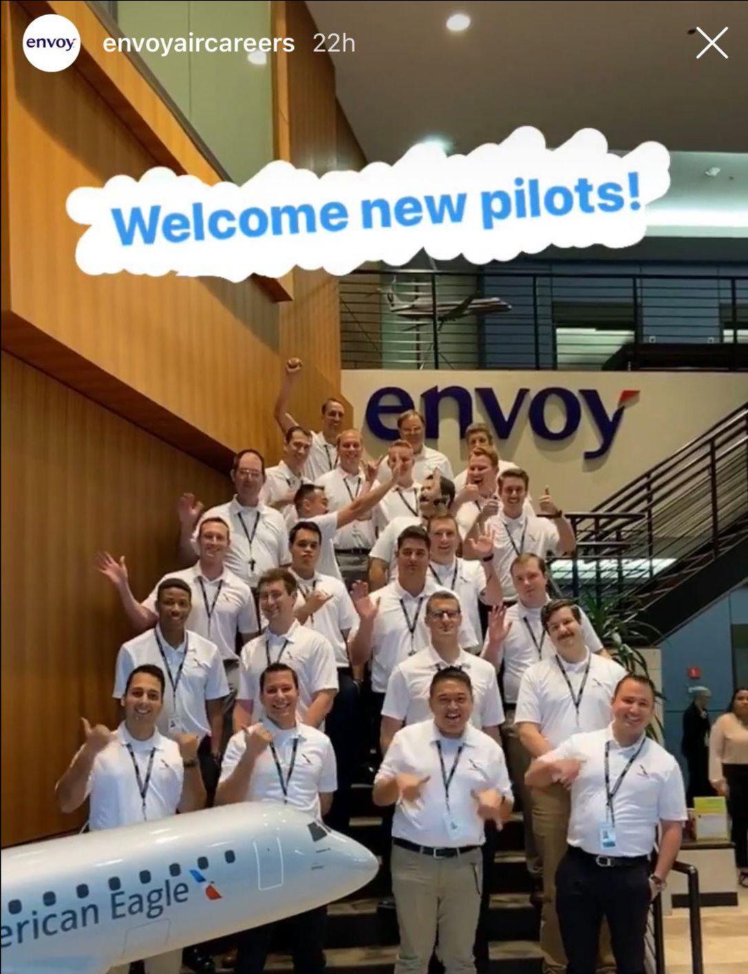 New Envoy Pilots